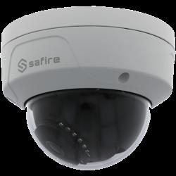 Cámara SAFIRE minidomo ip de 4 megapíxeles y óptica fija