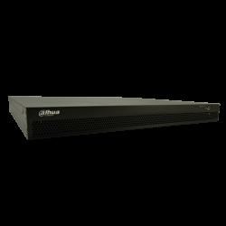 Grabador ip DAHUA de 24 canales y 12 mpx de resolución con 24 puertos PoE