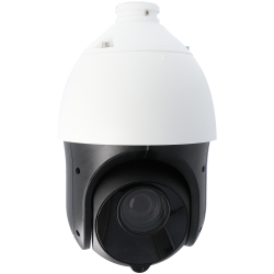 Cámara SAFIRE ptz ip de 2 megapíxeles y óptica varifocal motorizada (zoom)