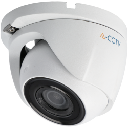 Cámara A-CCTV minidomo 4 en 1 (cvi, tvi, ahd y analógico) de 2 megapíxeles y óptica fija