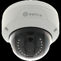 Cámara SAFIRE minidomo ip de 2 megapíxeles y óptica fija