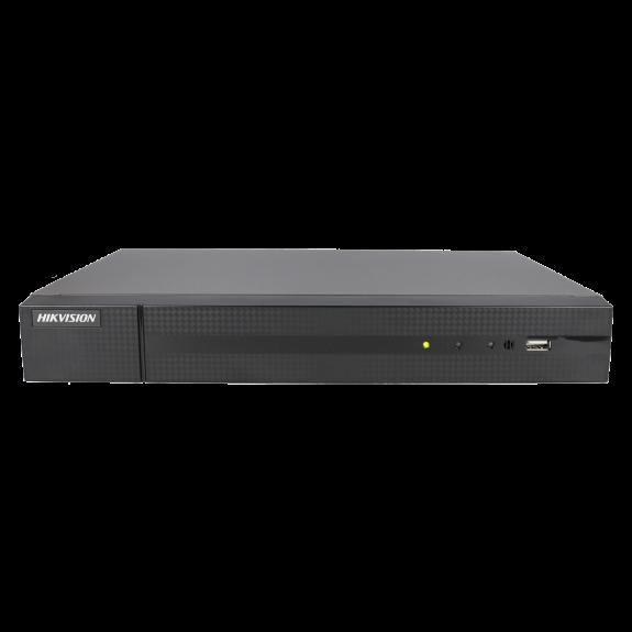 Grabador 5 en 1 (hd-cvi, hd-tvi, ahd, analógico y ip) HIKVISION de 8 canales y 4 mpx de resolución máxima