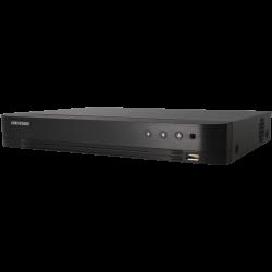 Grabador 5 en 1 (hd-cvi, hd-tvi, ahd, analógico y ip) HIKVISION PRO de 4 canales y 2 mpx de resolución máxima