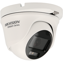 Cámara HIKVISION minidomo 4 en 1 (cvi, tvi, ahd y analógico) de 2 megapíxeles y óptica fija