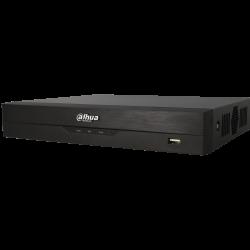 Grabador 5 en 1 (hd-cvi, hd-tvi, ahd, analógico y ip) DAHUA de 8 canales y 1 mpx de resolución máxima